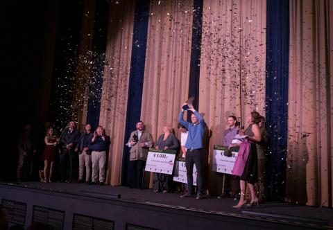 Felix Kuwert gewinnt den ersten Sophie Award 2019 in Berlin