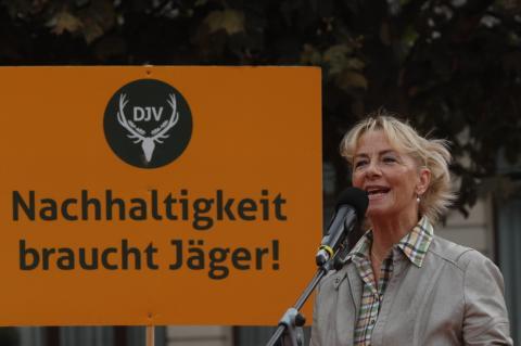Ursula Hammann (Naturschutzsprecherin der Grünen) (Quelle: Seidemann/DJV)