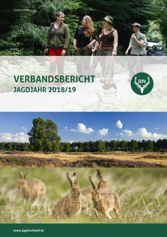 Verbandsbericht 2018/2019 (Quelle: DJV)