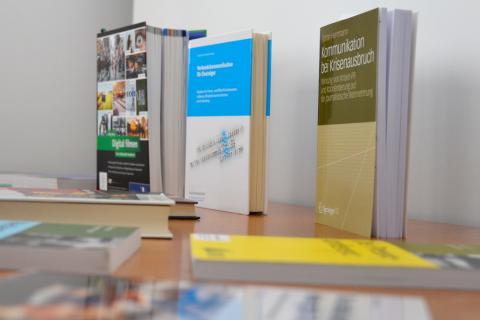 Literaturempfehlungen zum DJV-Medientraining (Quelle: Kapuhs/DJV)