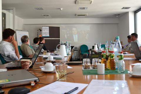 Einführung in das DJV-Medientraining (Quelle: Kapuhs/DJV)
