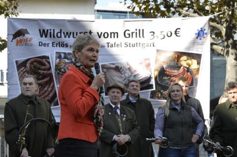 Staatssekretärin Friedlinde Gurr-Hirsch