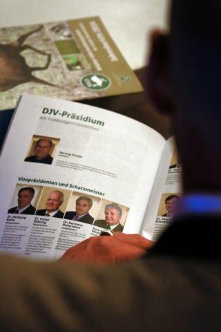 Der DJV-Verbandsbericht 2016 wurde auf dem Bundesjägertag in Wolfsburg vorgestellt.