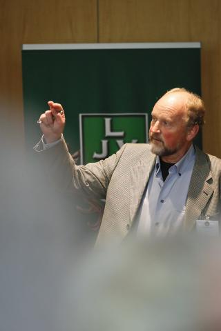 Holger Behrens, Deutscher Jagdverband, zum AIHTS-Projekt auf der Halbinsel Eiderstedt: