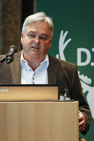 Dieter Geiger, Auerwild-Hegeberater LJV Baden-Württemberg: