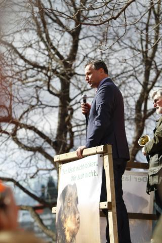 Demo Stuttgart Rülke FDP
