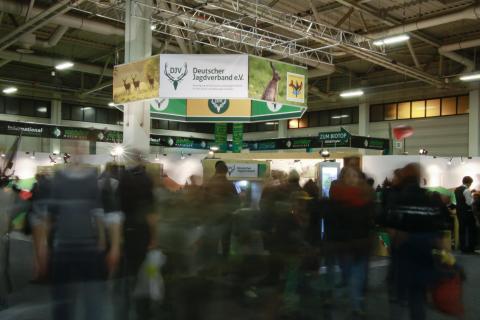 Jagd hautnah erleben: Der DJV präsentiert sich auf der IGW 2016 erstmals in Halle 4.2 (Quelle: Grimm/DJV)