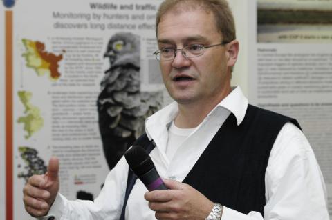PD Dr. Heiner Reck von der Universität Kiel