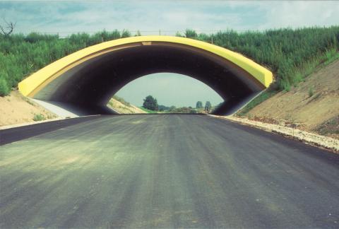 Bau Grünbrücke