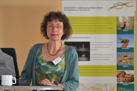 Marita Boettcher (BfN) auf der HLRK-Tagung 2013