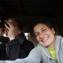 Gemeinsam Jagd erleben - Anna und Lena