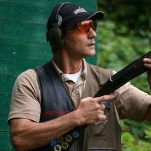 DJV-Bundesmeister im jagdlichen Schießen 2016: Claus Schäfer aus Rheinland-Pfalz