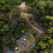 Camp Junge Jäger 2018 Luftaufnahme