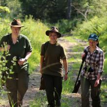 Immer mehr junge Frauen machen den Jagdschein