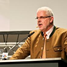 Ralph Müller-Schallenberg bei der Regionalkonferenz in Bielefeld 2014