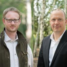 Portrait Olaf Niestroj und Andreas Leppmann