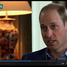 Prinz William im Interview