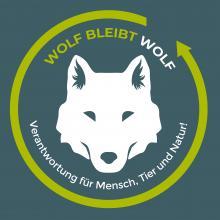 Logo der Kampagne Wolf bleibt Wolf