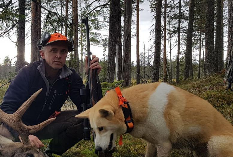 Wildökologe Fredrik Widemo von der Schwedischen Universität für Agrarwissenschaften
