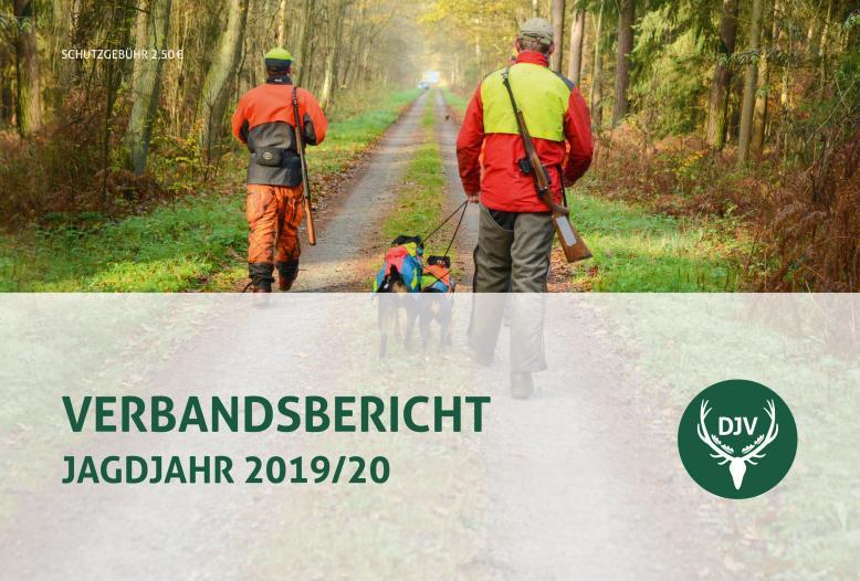 Der DJV hat jetzt seinen Verbandsbericht für das Jagdjahr 2019/20 (1. April bis 31. März) veröffentlicht.