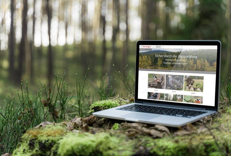 Neuer DJV-Premiumpartner: Die Firma Heintges bietet digitale Unterrichtsmaterialien für die Jägerprüfung.