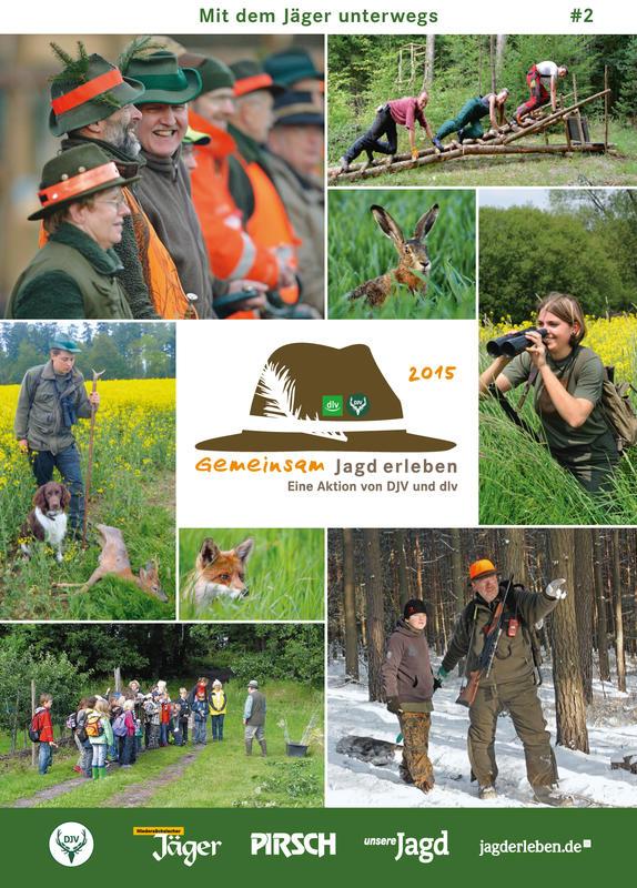 Mit dem Jäger unterwegs - Die Broschüre für den Gast. (Quelle: djv/dlv)