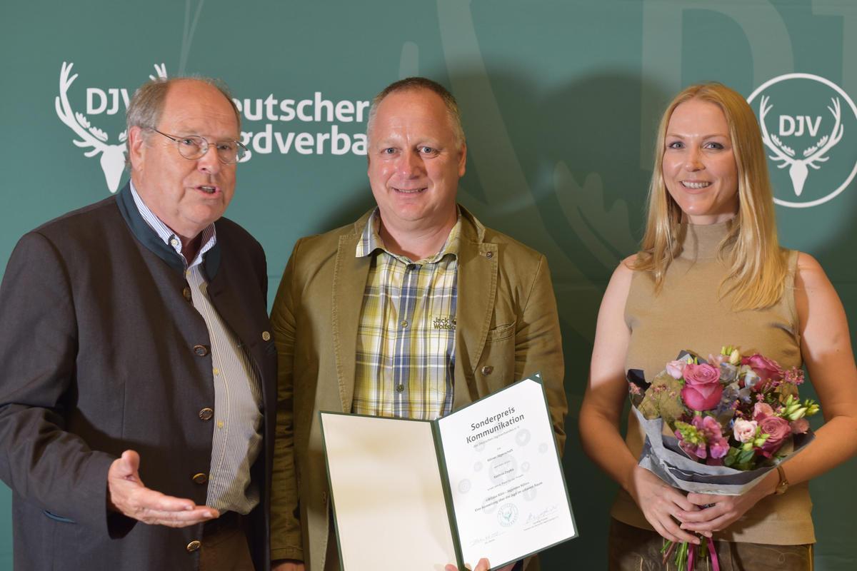 Sonderpreis Kommunikation: 4. Preis Kölner Jägerschaft, Kathrin Depka (Quelle: Kapuhs/DJV)