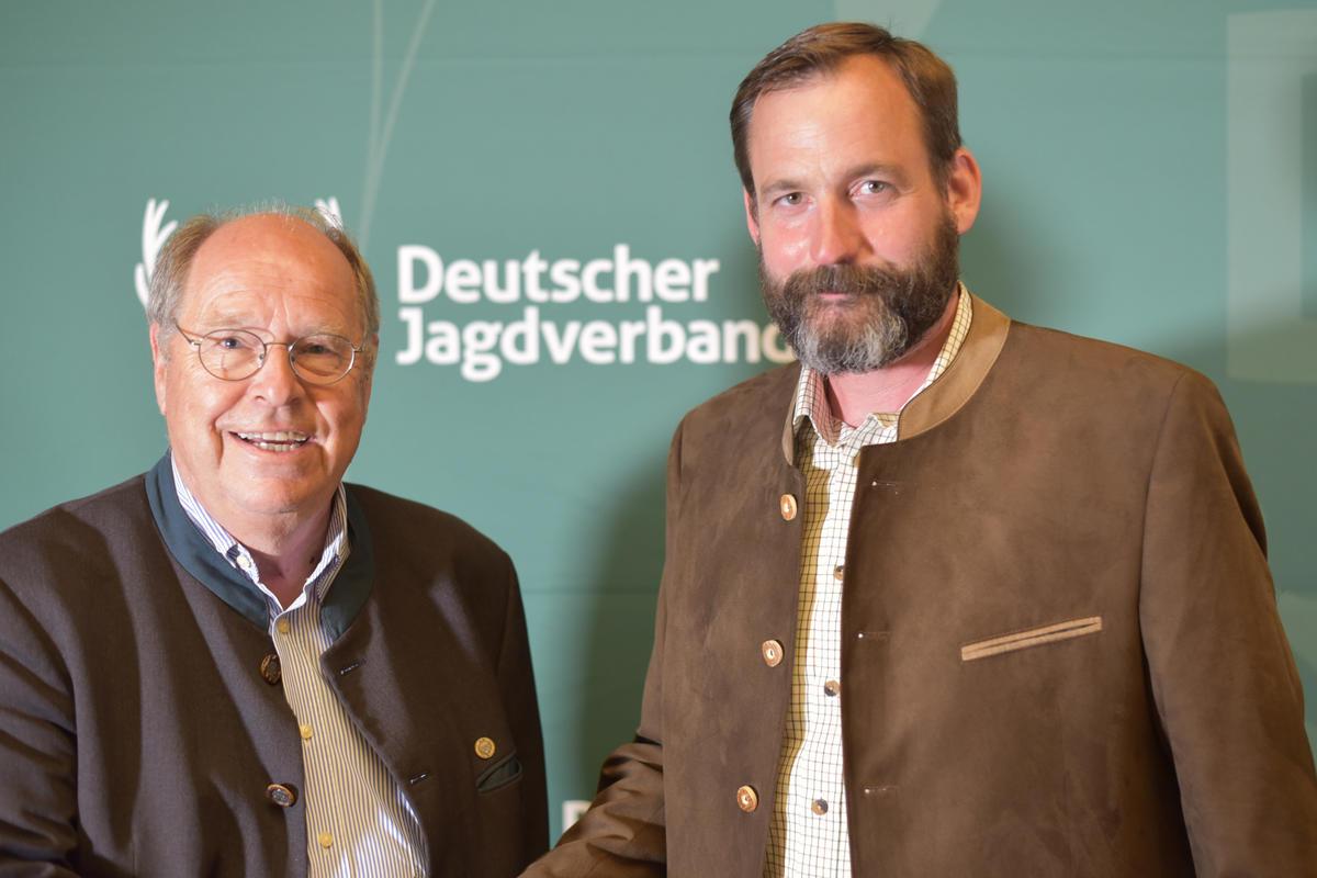 Frank Zabel vom Hegering Hartenholm gewinnt mit seinem Jagd-Podcast den 4. Preis im Sonderpreis Kommunikation (Quelle: Kapuhs/DJV)