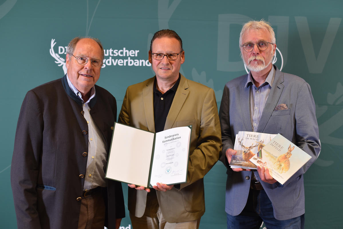 Sonderpreis Kommunikation: Hegering Emsdetten (Quelle: Kapuhs/DJV)