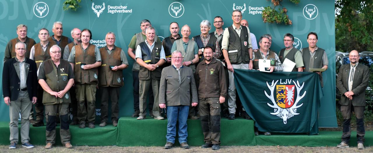 Erster in der Altersklasse/Mannschaft sind die Schützen aus Baden-Württemberg, gefolgt von Niedersachsen und Schleswig-Holstein. (Quelle: DJV)