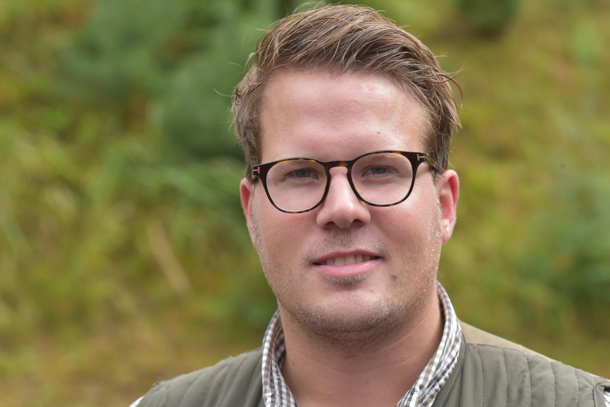 Maximilian Gronninger (28) aus Hamburg.  Ein Kurzinterview finden Sie auf unserer Facebookseite. (Quelle: Kapuhs/DJV)