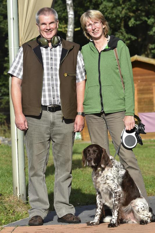 Sandra und Kai Clausen aus Schleswig-Holstein nehmen zum wiederholten Mal an der DJV-Bundesmeisterschaft teil und erhoffen sich die nächst höhere Nadel.