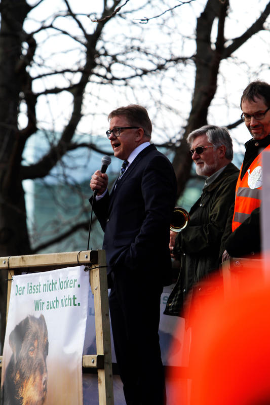Demo Stuttgart Guido WolfGuido Wolf, CDU-Fraktionsvorsitzender: