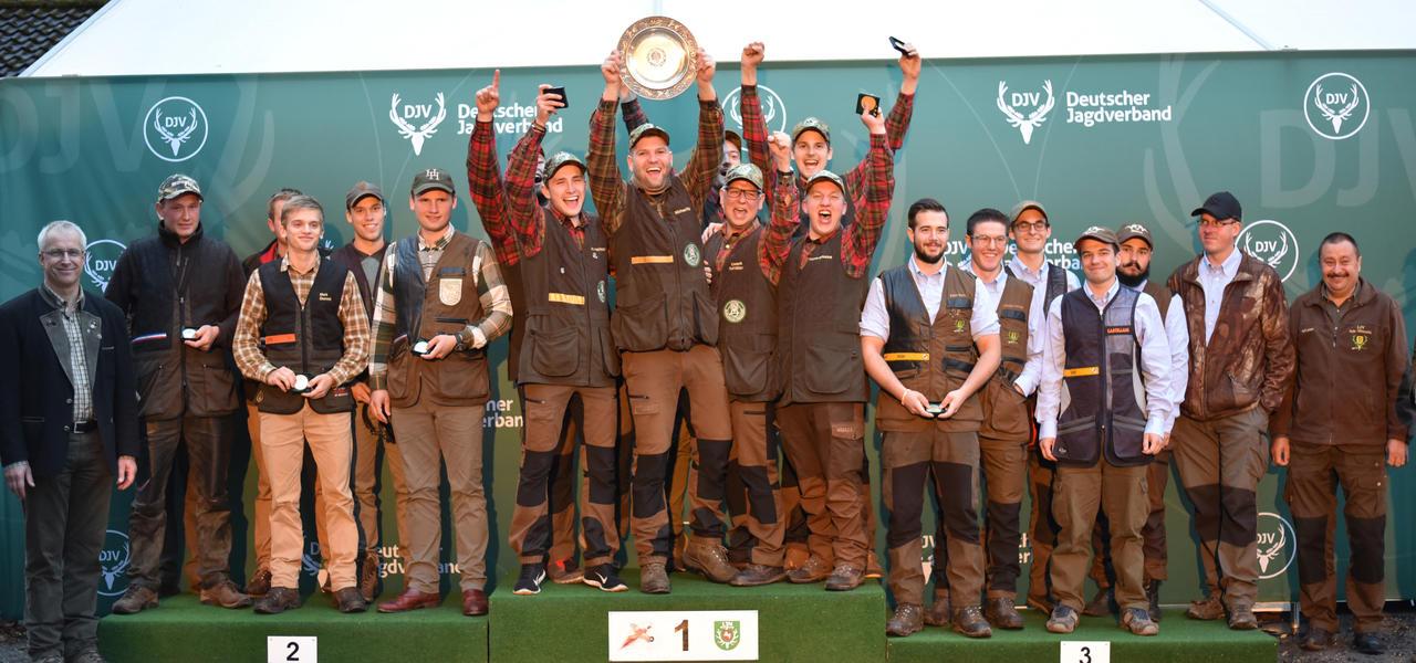 Sieger, Mannschaft, Junioren: 1) Niedersachsen, 2) Schleswig-Holstein, 3) Baden-Württemberg (Quelle: Kapuhs/DJV)