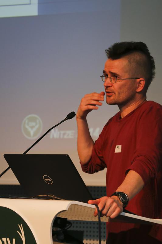 Mark Nitze (Institut für Forstsoziologie - TU Dresden):