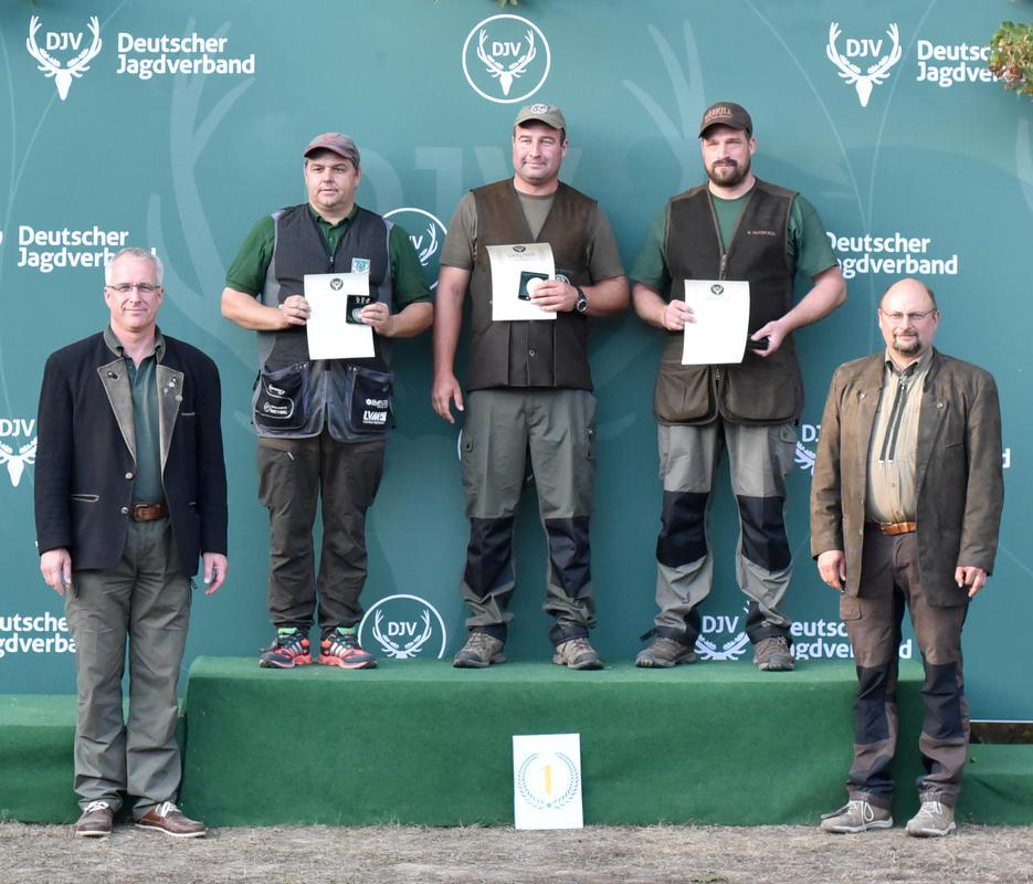 Sieger der offenen Klasse/Flinte. (Quelle: DJV)