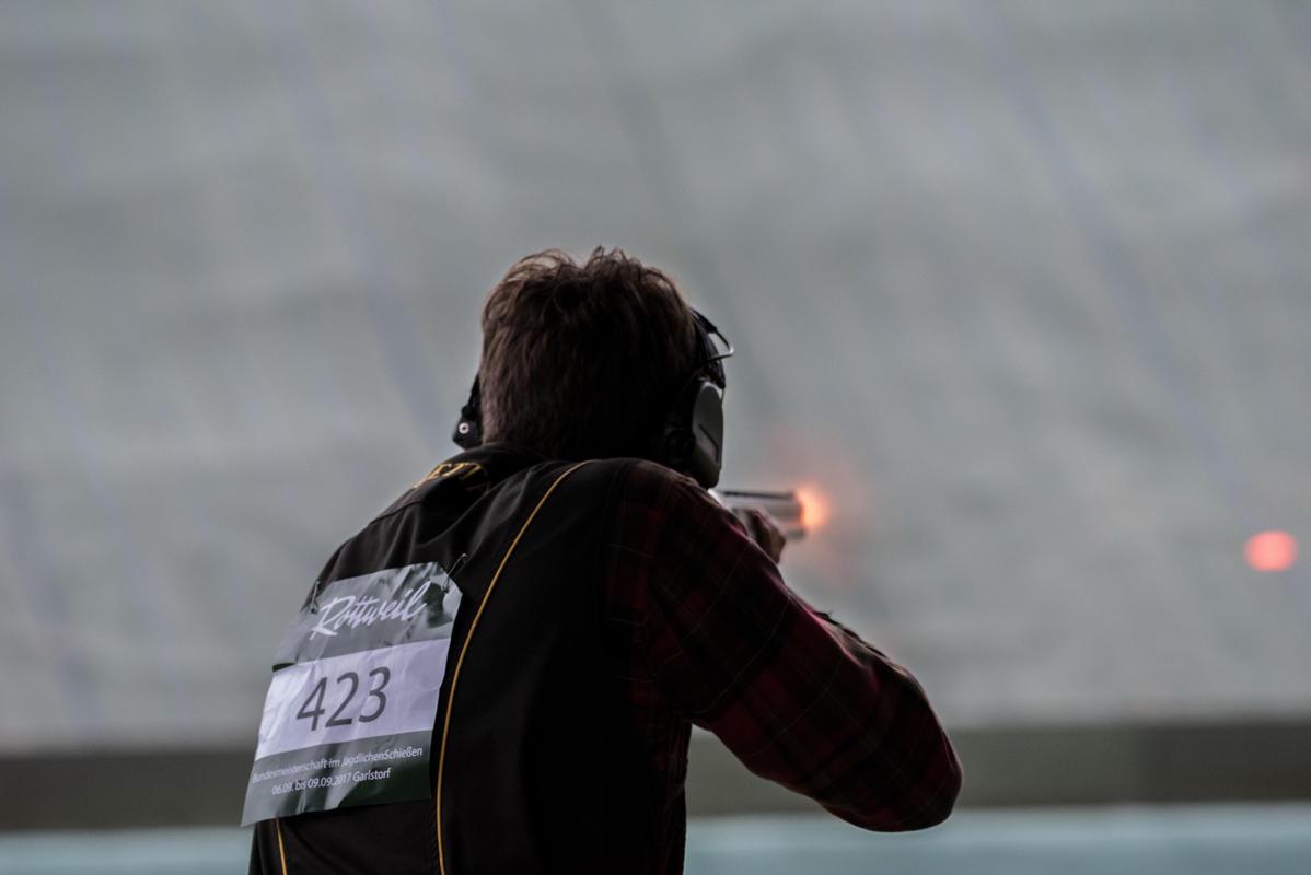 In einem spannenden Stechen konnte sich Matthias Avenriep knapp durchsetzen. (Quelle: Kapuhs/DJV)