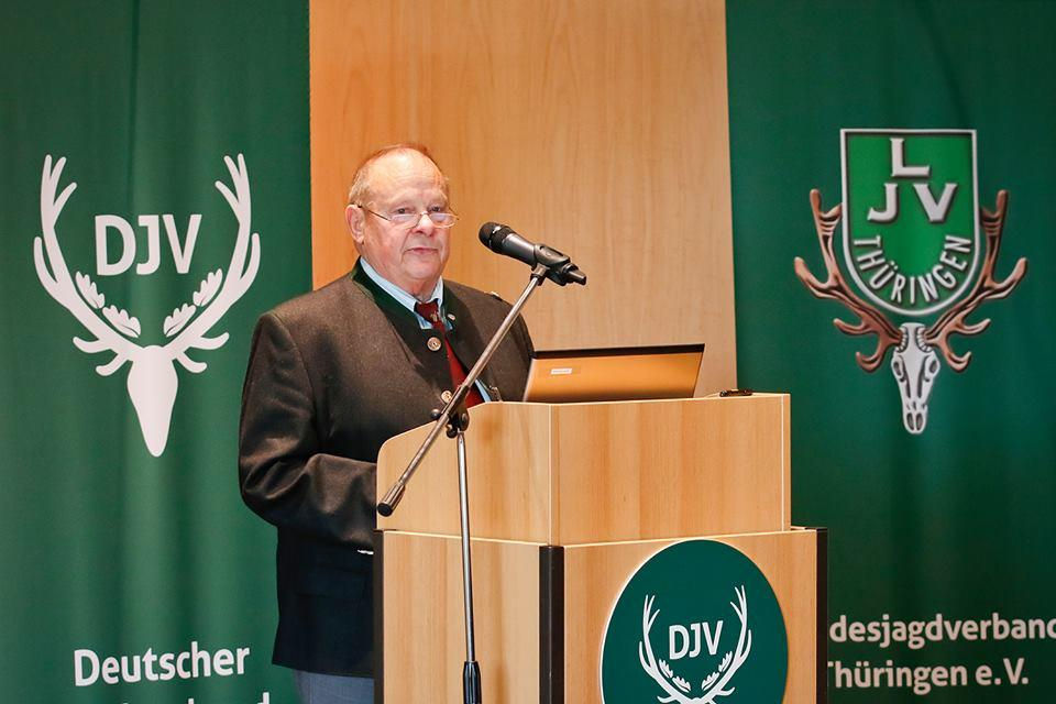 Steffen Liebig, Präsident des Landesjagdverbandes Thüringen:
