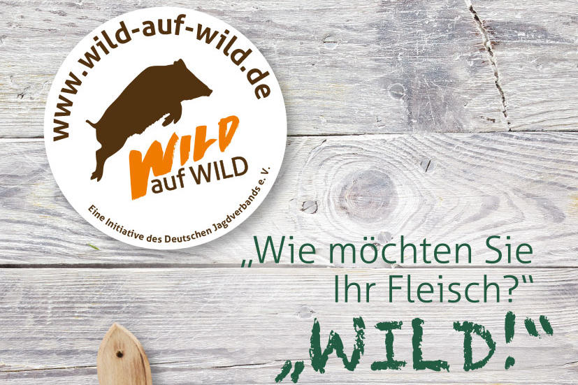 djv wirbt f r kampagne wild auf wild deutscher jagdverband. Black Bedroom Furniture Sets. Home Design Ideas