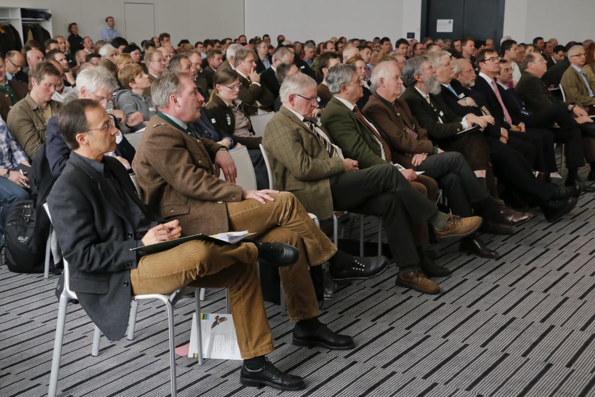 Auditorium - Wolfstagung (Quelle: Grimm/DJV)