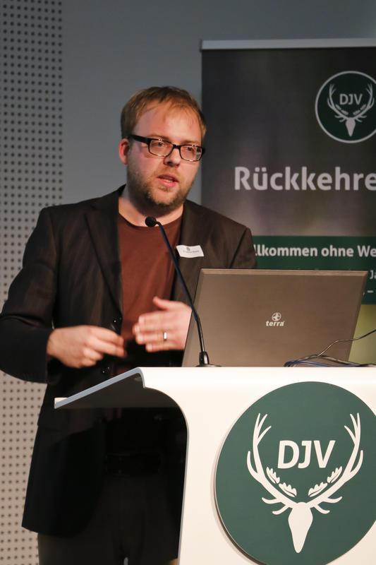 Dr. Carsten Nowak (Forschungsinstitut Senckenberg):