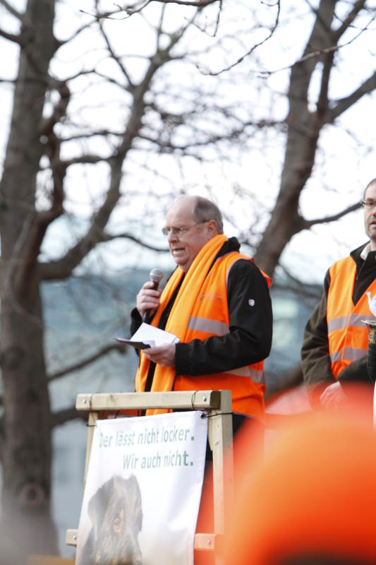 DJV-Präsident Hartwig Fischer richtet sich an die Jagdgegner:
